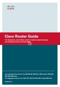 Cisco Router Guide