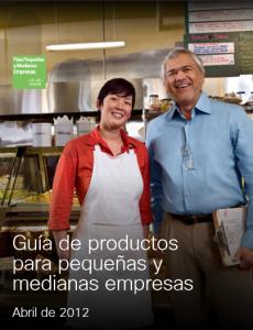 Guia de produtos para pequenas empresas