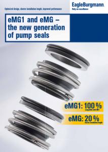 eMG1 and eMG – the new generation of pump seals