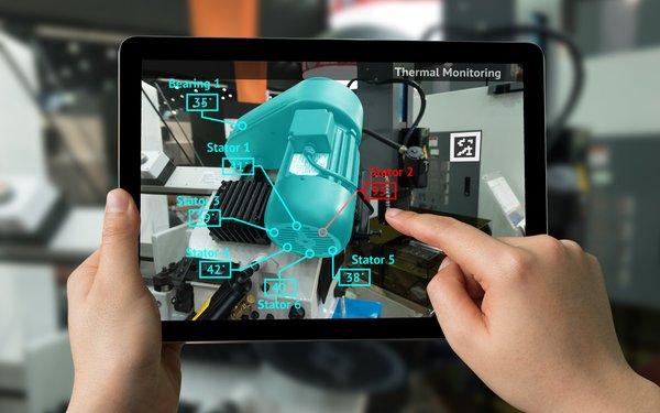 Dispositivo com Realidade Aumentada portátil, aumentando a experiencia do usuário.